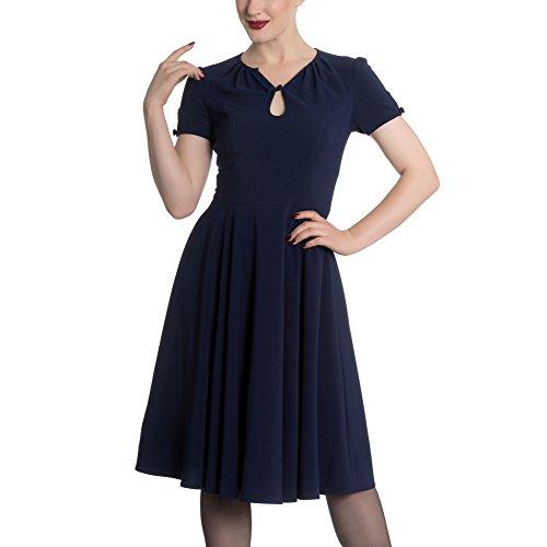 Hell Bunny -  Vestito  - Donna blu navy