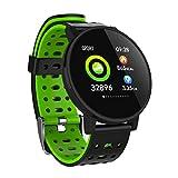 QINPIN 1,3'/1,54 '' Herzfrequenz Aktivität Schlaf Musiksteuerung wasserdicht Smartwatch Armband