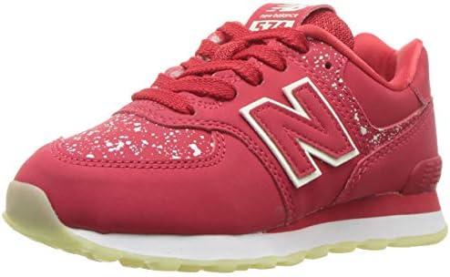New Balance Boys' 574v1 scarpe da ginnastica, rosso, 3 3 3 M US Little Kid B075XLHD6K Parent | Per Essere Altamente Lodato E Apprezzato Dal Pubblico Dei Consumatori  | Bel Colore  | 2019 Nuovo  | comfort  297ace