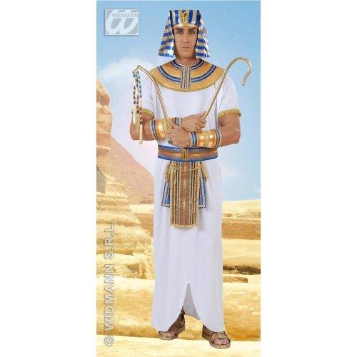 WIDMANN wdm9004u-Kostüm für Erwachsene Ägyptischer Pharao, weiß, XL