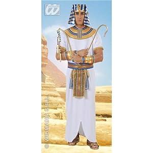 WIDMANN Deluxe Disfraz de faraón egipcio antiguo adultos, talla XL (9004U)