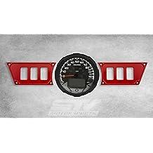 Aluminio Rojo Dash Panel Polaris W/6 interruptores de Polaris Rzr Xp 1000 No incluye