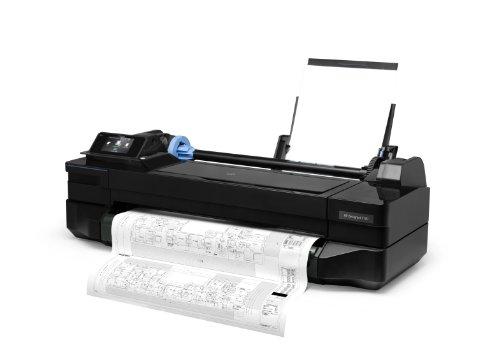 HP Designjet T120 ePrinter Series Großformatdrucker (61 cm (24 Zoll), 1200×1200 dpi, WiFi, USB 2.0) schwarz - 3