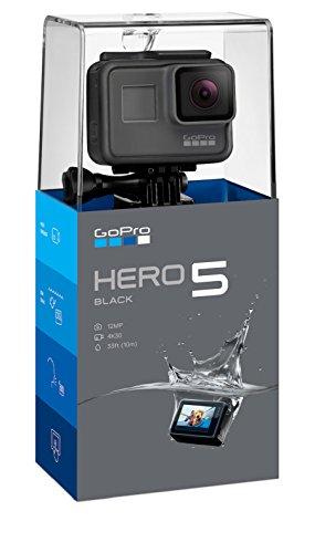 GoPro HERO5 Action Kamera (12 Megapixel) schwarz/grau (4k Pro Camcorder)