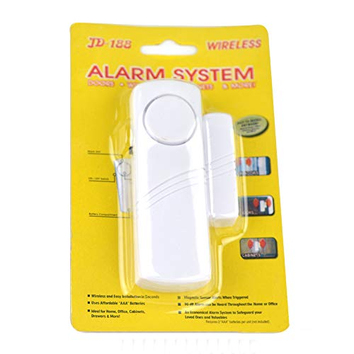 Romdink Türfenster Alarm 10 Pack, Wireless Home Security Türfenster Einbruchalarm (White)