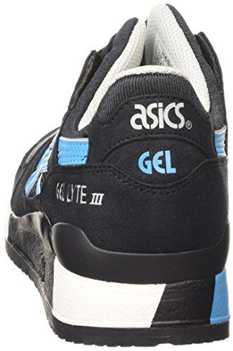 ASICS Gel-lyte Iii - Scarpe da Ginnastica Basse Unisex – Adulto, Grigio (soft Grey/soft Grey 1010), 43 EU Nero (black/atomic Blue 9039)