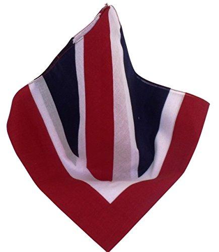Nickituch Britische Flagge | Kopftuch im Union Jack-Look -