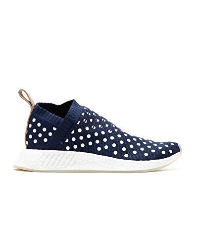 adidas Originals NMD_CS2 Primeknit Boost W Schuhe Damen Sneaker Turnschuhe Blau BA7212, Größenauswahl:38