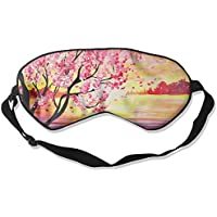 Eye Mask Eyeshade Lake Painting Sleep Mask Blindfold Eyepatch Adjustable Head Strap preisvergleich bei billige-tabletten.eu