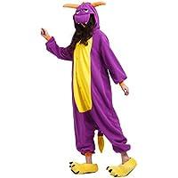 YUWELL Unisexe Pyjamas Anime Halloween Cosplay Onesie Animal Costume Adulte