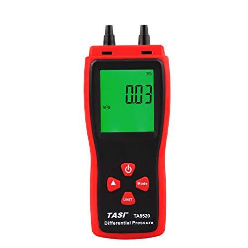 TA8520 Handheld Digital Pressure Meter Elektronisches Differenzdruckmessgerät Präzisionsdrucktabelle