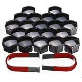 Set-of-20-pcs-17mm-Car-Plastic-Caps-Bolts-Covers-Nuts-Alloy-Wheel