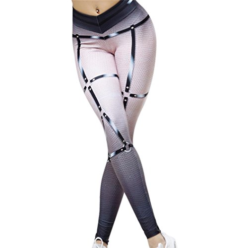SMILEQ Women High Waist Yoga Fitness Leggings Running Gym Stretch Sports Pants Casual Trousers