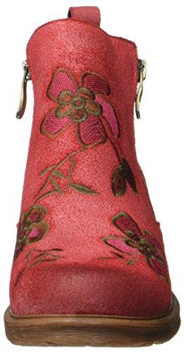 Laura Vita Anita 02, Bottes Classiques femme Rot (Rouge)