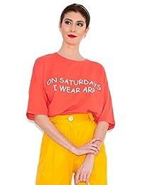 Agatha Ruiz de la Prada Camiseta Roja Sábado ...