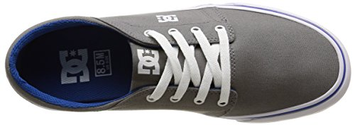 DC Shoes Trase Tx M, Baskets Basses Homme Gris (Grey/Blue)