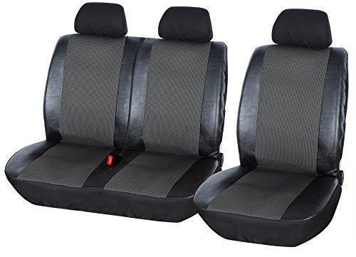 Sitzbezüge Schonbezüge SET KA Fiat Ducato Stoff blau