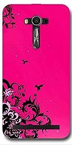 SEI HEI KI Back cover for Asus ZenFone 2 Laser ZE550KL-Multicolor