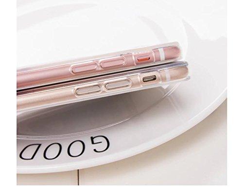 Case per iPhone 6S,Cover per iPhone 6 ,Bonice Ultra Slim Diamante Bling Glitter Lusso Specchio Cristallo Strass Morbida Rubber Bumper 360 Gradi [Rotazione Grip Ring Kickstand] con Supporto Dellanello model 32