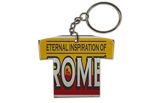 Schlüsselanhänger Reisen Küche Rom Italien Trikot Bedruckt -