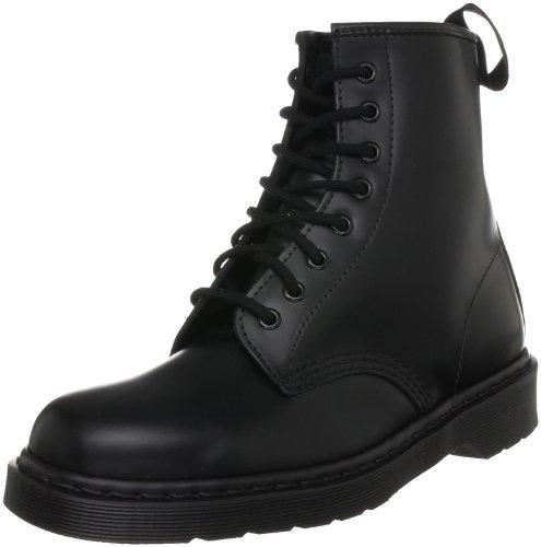 Dr. Martens 1460 MONO Smooth BLACK, Unisex-Erwachsene Combat Boots, Schwarz (Black), 48 EU (13 Erwachsene UK)