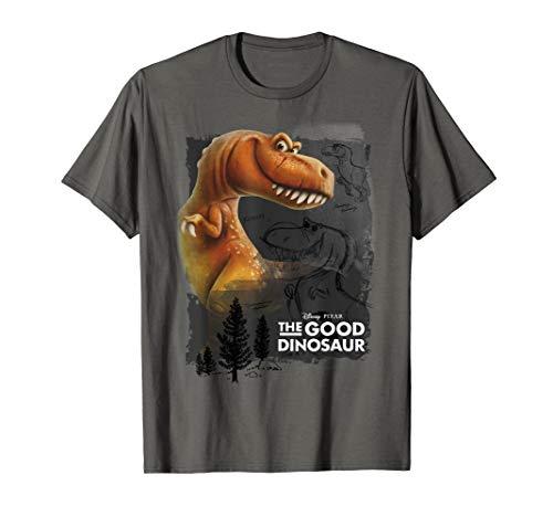 Disney Pixar Good Dinosaur Ramsey Poster Graphic T-Shirt -