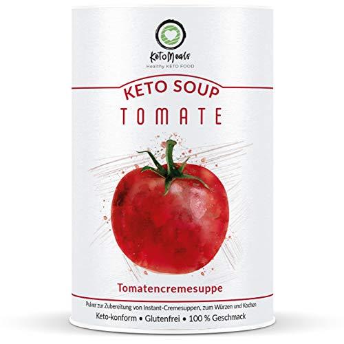 KetoMeals Keto Soup Tomate | 15 Portionen, 1er Pack (450g) | Ketogene & Low-Carb Ernährung -