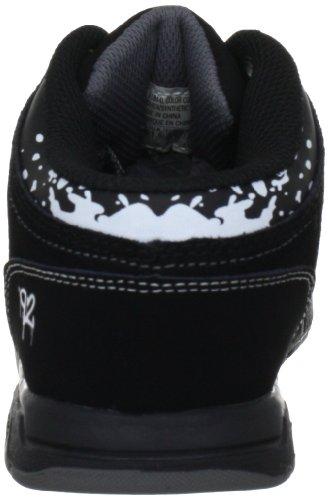 Skechers Endorse Asher, Baskets mode garçon Noir (Bkcc)
