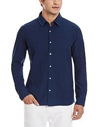 11.11/eleven eleven Men's Casual Shirt