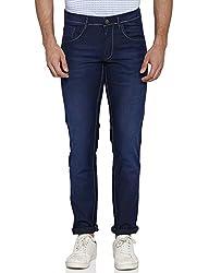 Park Avenue Mens Slim Fit Jeans (8907575387791_PCYB00445-B7_38W x 33L_Dark Blue)