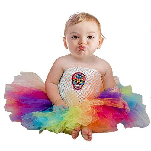 Baby Kinder Mädchen Ärmellos Prinzessin Tütü Kleid Mädchen -