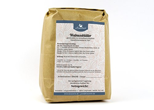 Walnussblätter in sehr hochwertiger Qualität, frei von jeglichen Zusätzen, als Tee oder für...