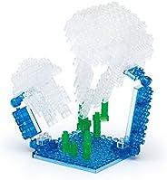 nanoblock Medusa Micro-Costruzioni Serie: Mini, Multicolore, NBC-087