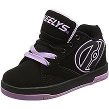 Heelys Propel 2.0, Zapatillas Para Niños, Negro (Black/Lilac), 32 EU