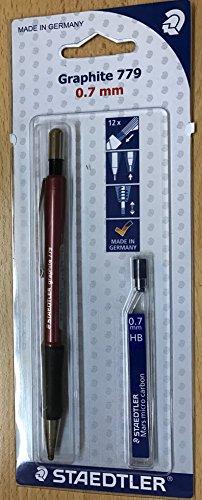 Staedtler Staedtler 7797ABK25D Druckbleistift graphite und 1 ST Feinminendose (HB) gratis gefüllt...