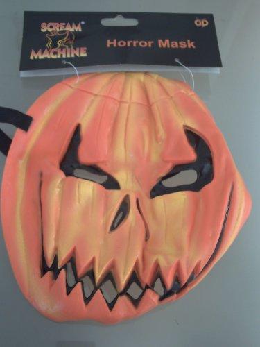 Scream Machine Halloween Roter Teufel Maske