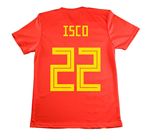 REAL FEDERACION FUTBOL Jersey Official Replica Selection of Spain.  Officially Licensed World Russia 2018. ee64e8e72