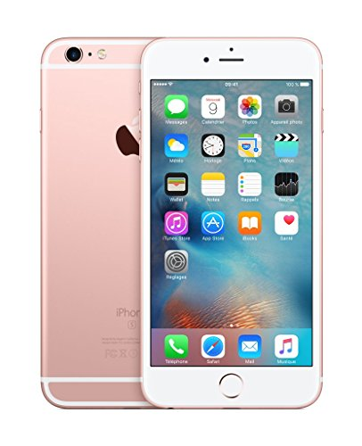 "Apple iPhone 6s Plus Single SIM 4G 16GB Pink gold - smartphones (14 cm (5.5""), 16 GB, 12 MP, iOS, 10, Pink gold)"