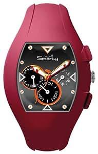 Smarty Watches Damen-Armbanduhr Chrono Chronograph Kautschuk SW040G