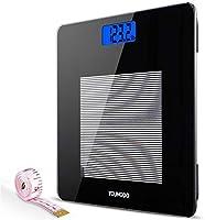 YOUNGDO Pèse Personne Impédancemètre, Impedancemetre avec 19 Données Corporelles (BMI/BFR/Muscle/Eau/Graisse...