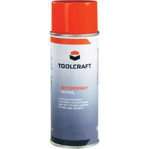 Preisvergleich Produktbild TOOLCRAFT Kettenspray 400ml mit Mos2