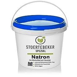5kg Natron Pulver in Lebensmittelqualität E500ii NaHCO3 Loses Pulver - Greenline Serie