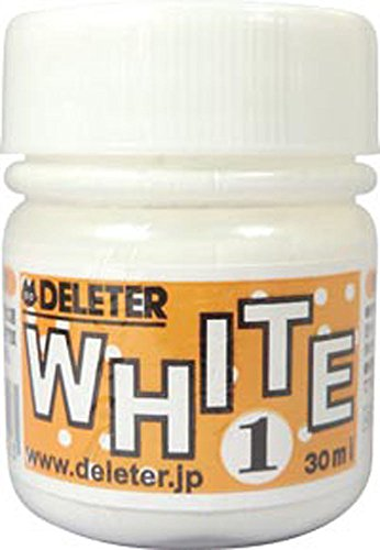 Deleter Manga Ink - 30 ml Bottle - White 1 (Aqueous White-out) by Deleter