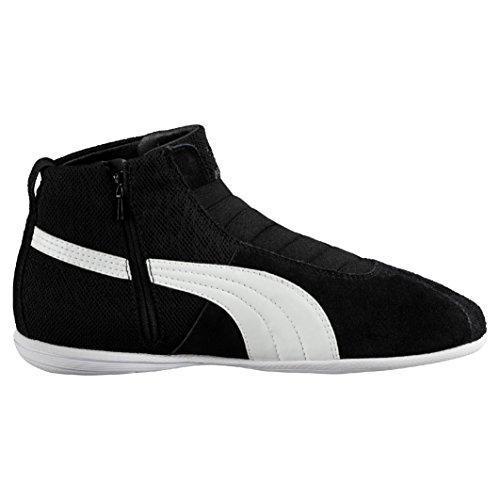 Puma Eskiva Mid Textured, Baskets Basses femme Noir