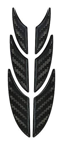 910048de VA de protección adhesivo 3d–Carbon–Pantalla de alta tecnología con estructura visible