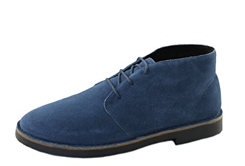 Armani Jeans Herrenschuhe Shoe Stiefeletten Schnürer 935056 blau (43)