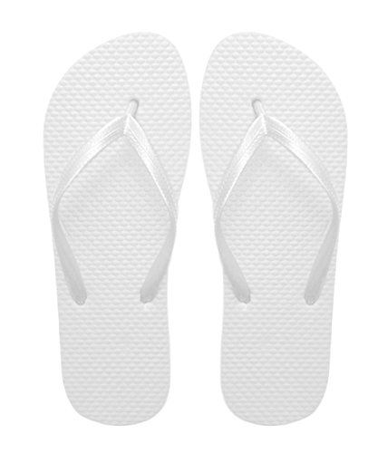 434e6436ad04 SUGAR ISLAND Unisex Ladies Girls Mens Summer Beach Flip Flop Pool SHOES-WHITE-5 6  - Buy Online in Oman.
