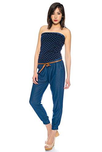 Kendindza Collection - Combinaison - Femme Anker Navyblau