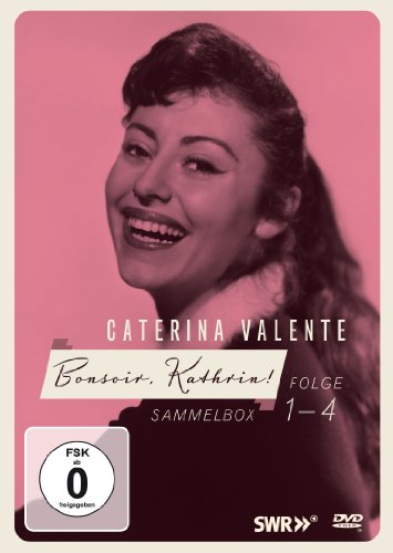 Bild von Caterina Valente - Bonsoir, Kathrin 4-fach DVD-Kollektion (LIMITED EDITION Limitierte Sammlerauflage 4 DVDs + Booklet) Die frühen Shows!