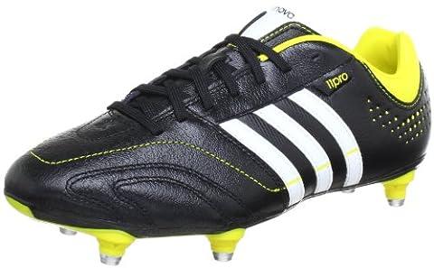 adidas Performance 11Nova SG Q23823, Herren Fußballschuhe, Schwarz (BLACK 1/RUNNING WHITE FTW/VIVID YELLOW S13), EU 41 1/3 (UK
